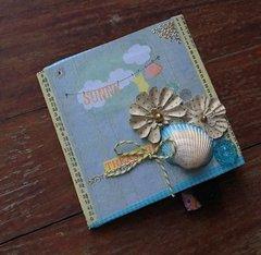 Flip Card:  Seashore themed for Secret Pal Reveal