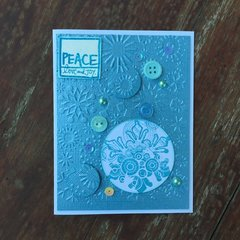 Peace Christmas Card - August Sketch Challenge #5