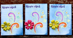 Groovy Chick 1960's ATCs
