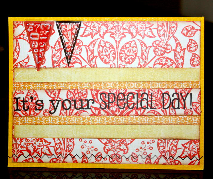 #12 - It's your special day