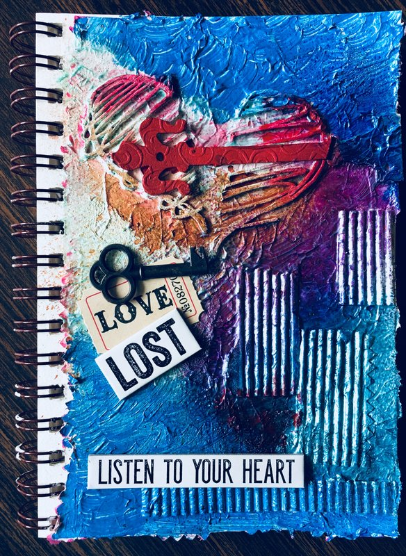 Art Journal Mixed Media - Lost Love