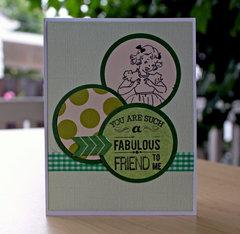 Fabulous Friend - July Card Sketch Bonus Sketch