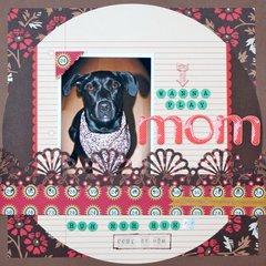 Mom - July Scrap Your Pet