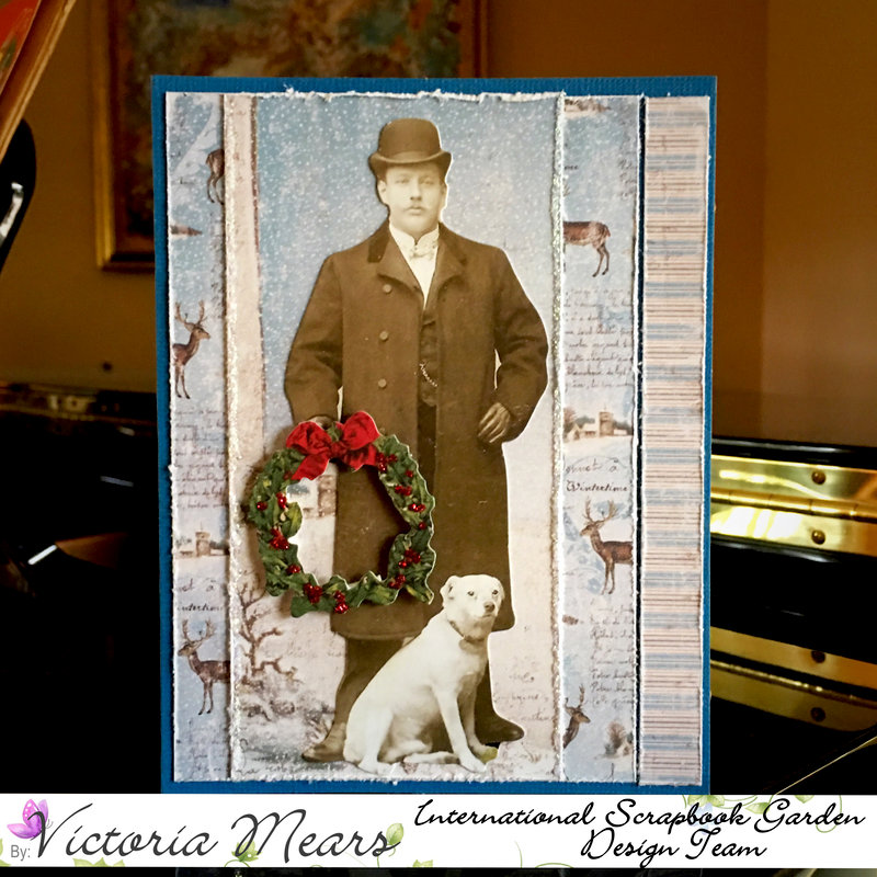 Gentleman's Holiday Greetings - Dec Card Inspiration Sketch