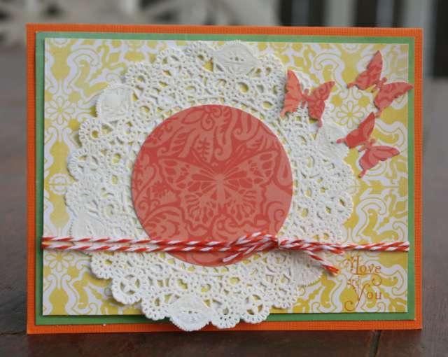 I Love You - September Card Color Challenge