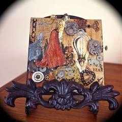 Steampunk Canvas - Her Year