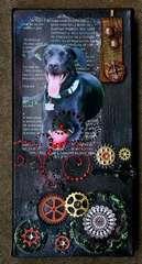 Steampunk Pearl Canvas