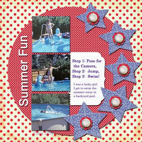 Summer Fun ~1970 Crafty Secrets