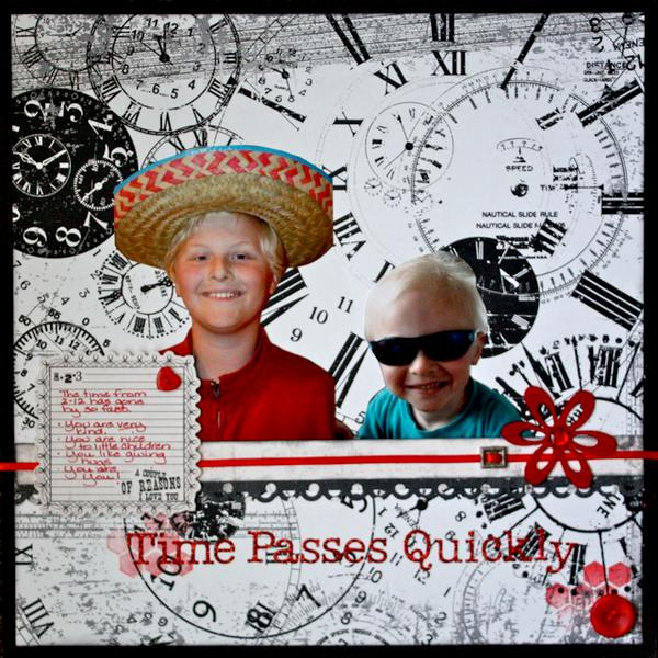 Time Passes Quickly (two to twelve) {February LO #2}