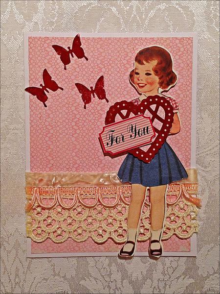 Valentine Card *Vintage Street Market Blog*