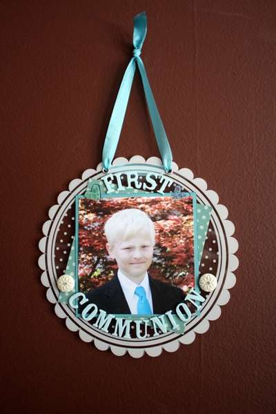First Communion Wall Hanging - June Altered Kit Serendipity