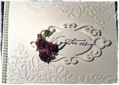 Weddinginvitation vard - Front
