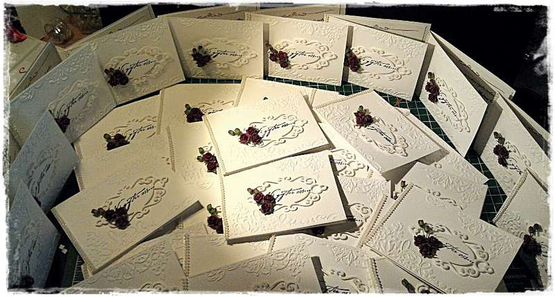 Weddinginvitation cards