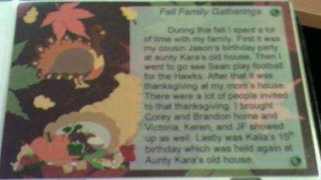Fall Family Gatherings