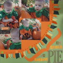As sweet as pumpkin pie