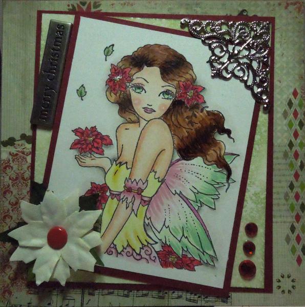 Poinsetta Fairy
