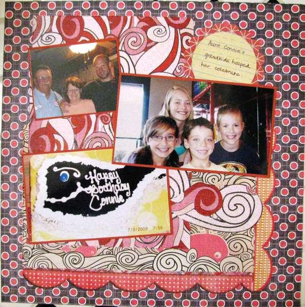 Aunt Connie's birthday