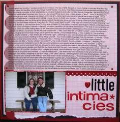 Little Intimacies