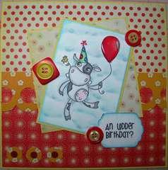 An udder birthday?