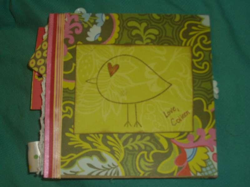Back of paper bag book