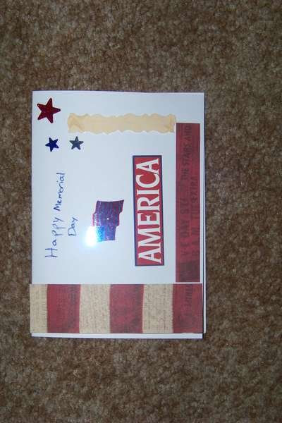 Memorial Day Card for NSBD