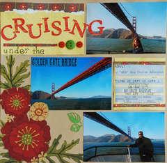 Cruising Under The Golden Gate Bridge