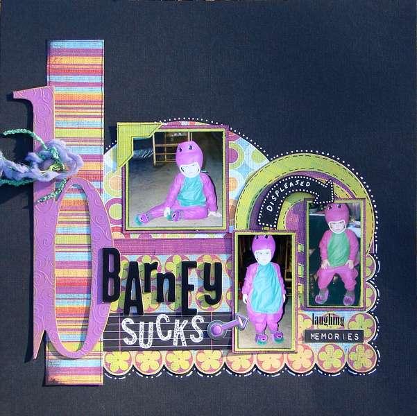 Barney Sucks