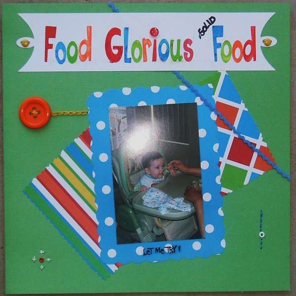 Food Glorious Solid Food (page 1)