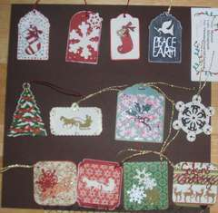Christmas Gift Tags (page 1 of 2) fronts