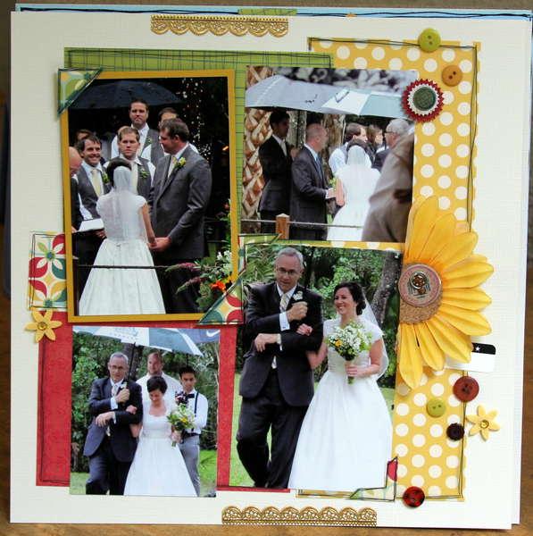 Wedding right side