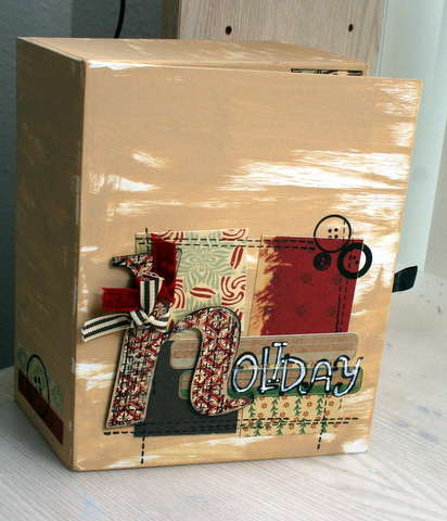 Christmas box of mini books