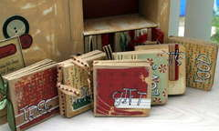 Christmas mini books