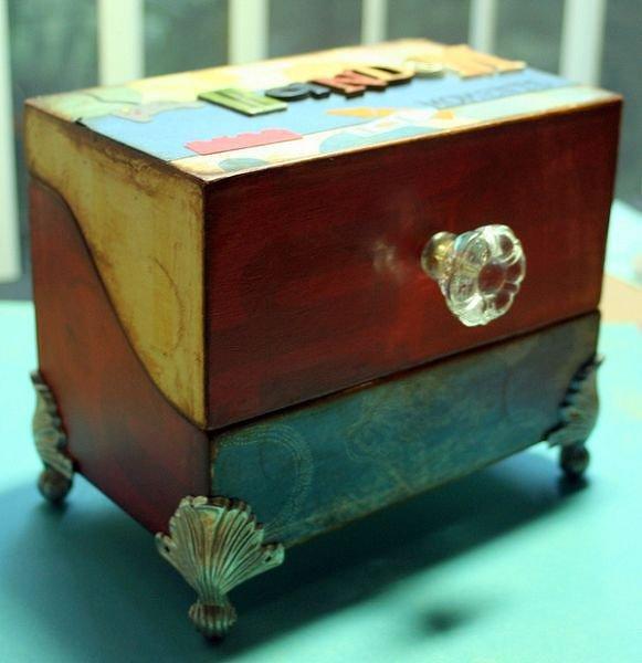 Altered Recipe Box