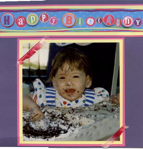First Birthday Part 1 of 2