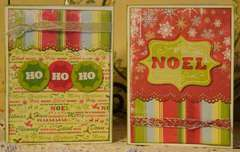 HoHoHo & Noel cards