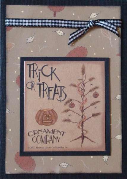 Trick or Treats Ornament Company