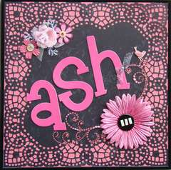 ASH BUG (wall art)