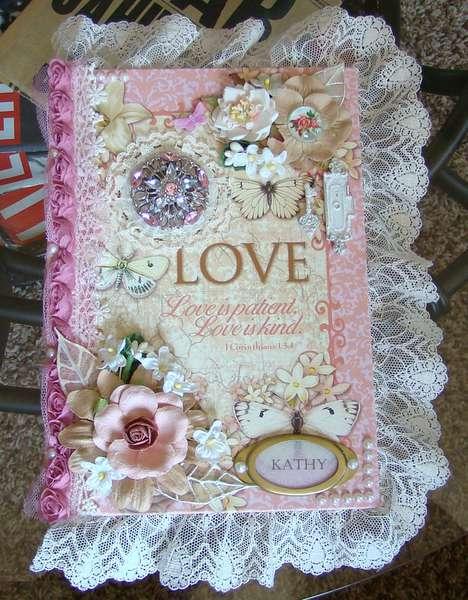 LOVE (altered journal)