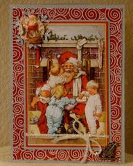 Vintage Santa