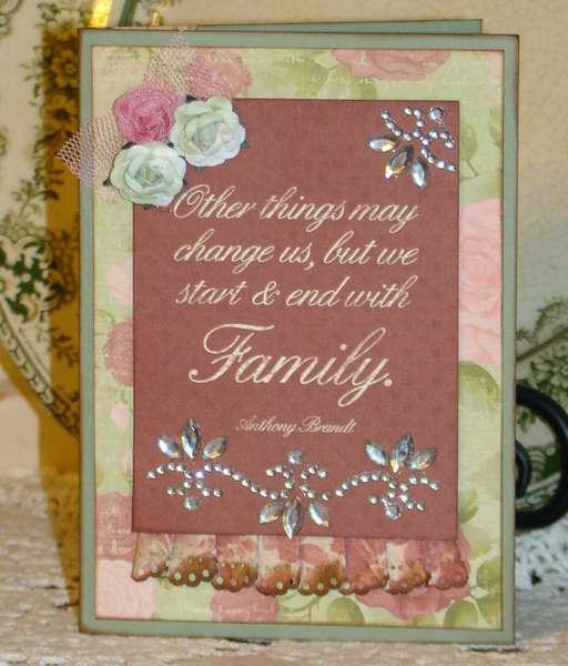 Card for a family member