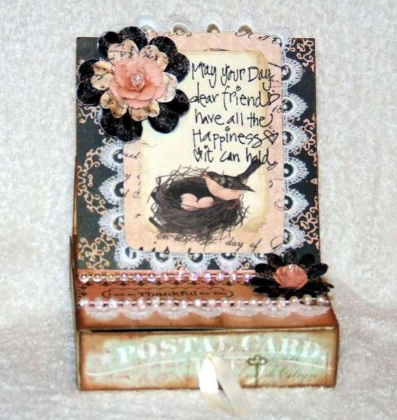 easel box card {prima}