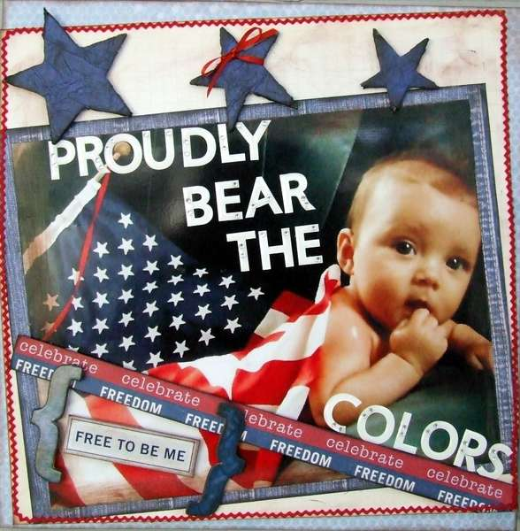 Proudly Bear The Colors