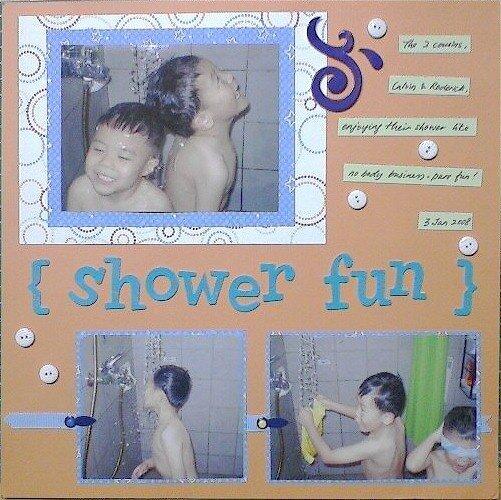 Shower fun