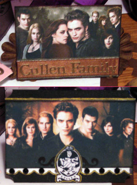 New Moon Atc's - The Cullens