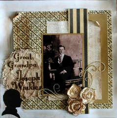 Great Grandpa Joseph Winkler