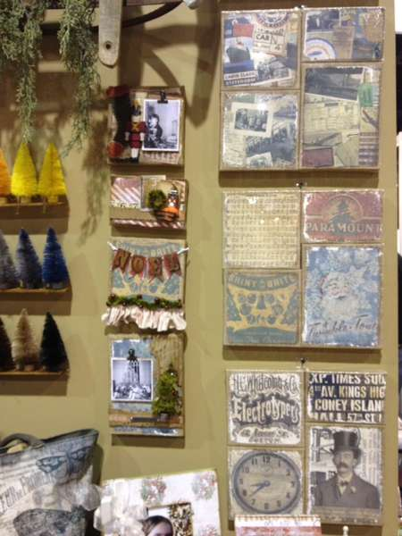 Brand New Ranger Ink Tim Holtz Altered Wall Hanging