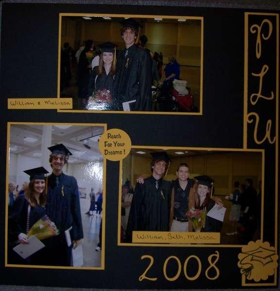 PLU Graduation 1