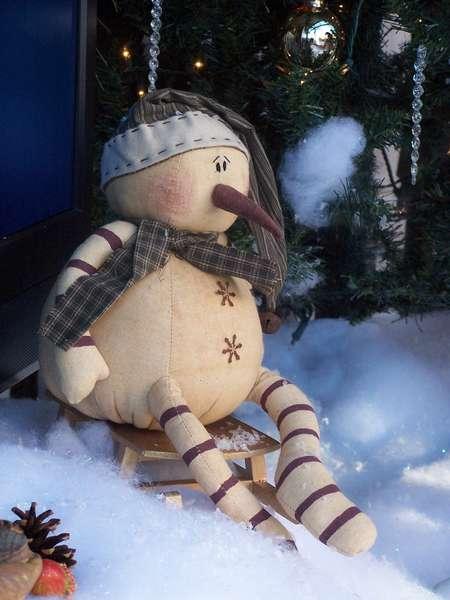 POD mini Leftover Snowman