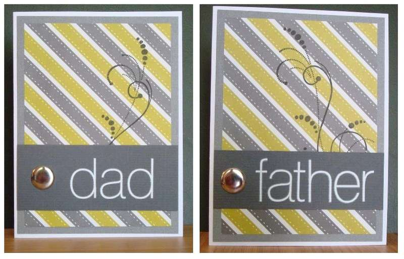 Striped father's day