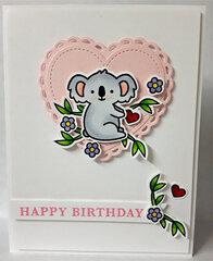 Koala Happy Birthday
